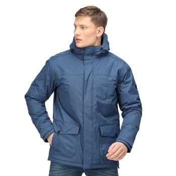 Men's Sterlings III Waterproof Insulated Jacket Dark Denim