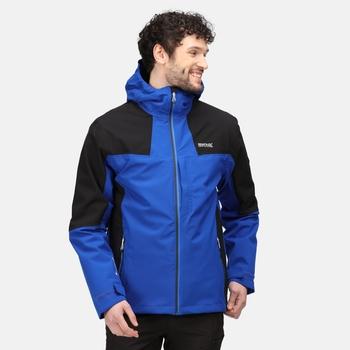 Men's Wentwood VI 3-In-1 Waterproof Insulated Jacket Surf Spray Black