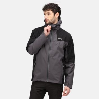 Men's Wentwood VI 3-In-1 Waterproof Insulated Jacket Rhino Black Ash