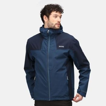 Men's Wentwood VI 3-In-1 Waterproof Insulated Jacket Moonlight Denim Navy