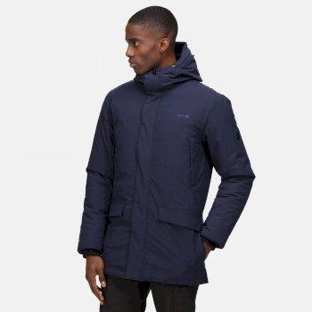 Men's Yewbank Waterproof Insulated Parka Jacket Navy