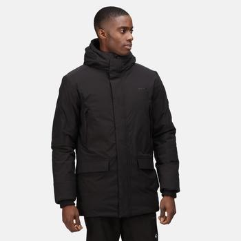 Men's Yewbank Waterproof Insulated Parka Jacket Black