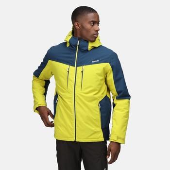 Men's Highton Stretch II Waterproof Insulated Jacket Dark Tang Moonlight Denim
