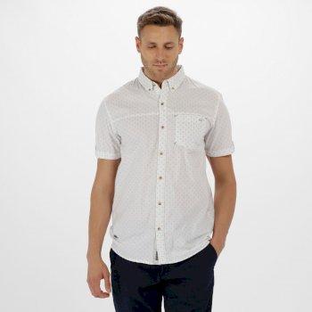 Damaro Coolweave Cotton Shirt White