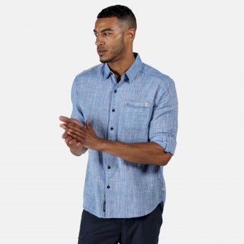 Men's Banning Long Sleeved Shirt Chambray