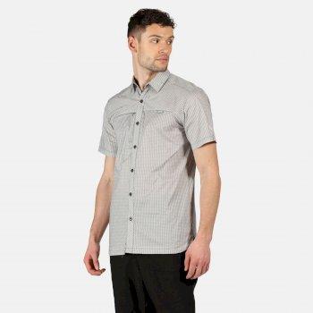 Men's Honshu V Short Sleeved Shirt Ash