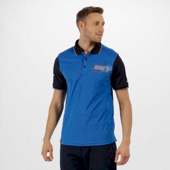 Tremont II Navigator Polo Shirt Oxford Blue Naxy