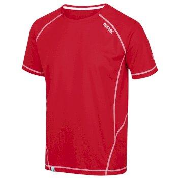 Men's Virda II Active T-Shirt Chinese Red
