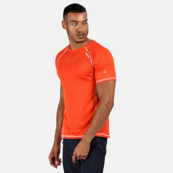 Men's Virda II Active T-Shirt Burnt Salmon