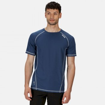 Men's Virda II Active T-Shirt Dark Denim
