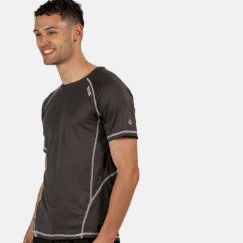 Men's Virda II Active T-Shirt Magnet Grey