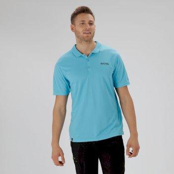 Maverik IV Polo Shirt Atoll Blue