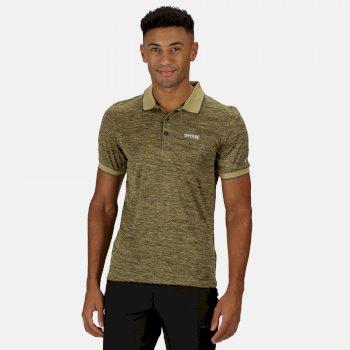 Men's Remex II Jersey Polo Shirt Grapefruit