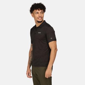 Men's Remex II Jersey Polo Shirt Black