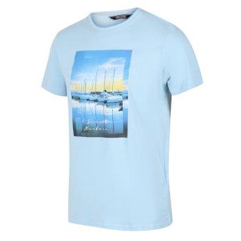 Men's Cline IV Graphic T-Shirt Powder Blue