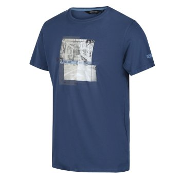 Men's Cline IV Graphic T-Shirt Dark Denim