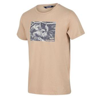 Men's Cline IV Graphic T-Shirt Oat