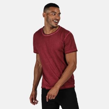 Men's Calmon Coolweave T-Shirt Delhi Red