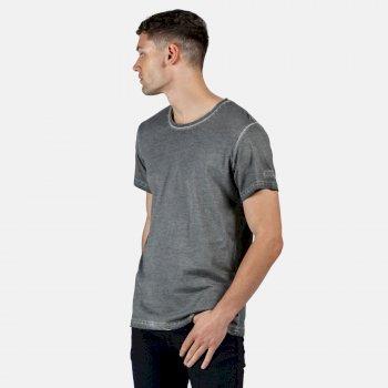 Men's Calmon T-Shirt Rock Grey