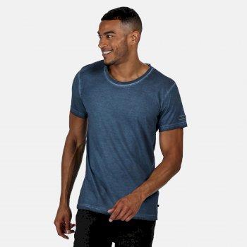 Men's Calmon T-Shirt Dark Denim