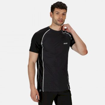 Men's Tornell II Active T-Shirt Ash Black