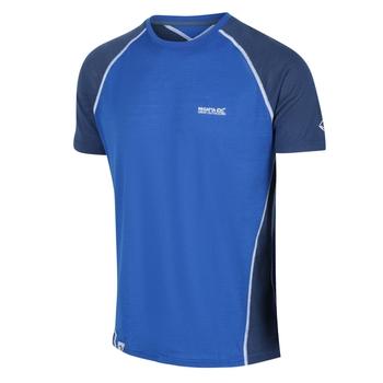 Men's Tornell II Active T-Shirt Nautical Blue Dark Denim