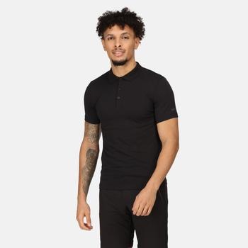 Men's Sinton Lightweight Polo Shirt Black