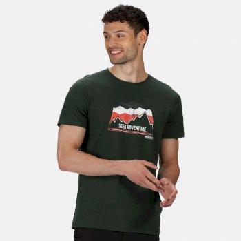 Men's Breezed Graphic T-Shirt Deep Forest