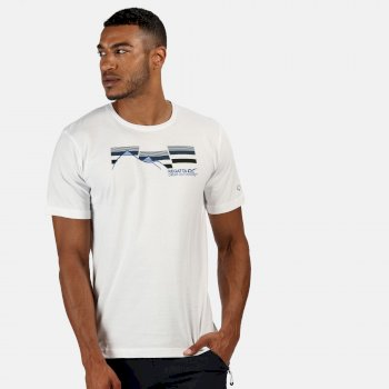 Men's Breezed Graphic T-Shirt White