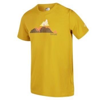Męska koszulka Fingal V żółta