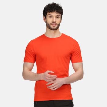Men's Tait Lightweight Active T-Shirt Burnt Salmon