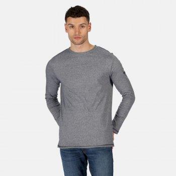 Men's Karter II Lightweight T-Shirt Navy Stripe