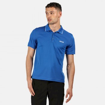 Męski t-shirt Maverick V niebieski