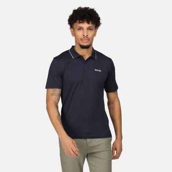 Men's Maverick V Active Polo Shirt Navy