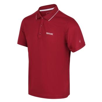 Men's Maverick V Active Polo Shirt Delhi Red