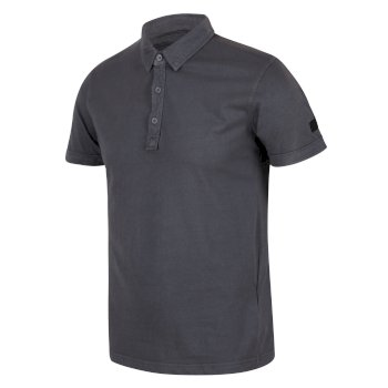 Men's Taiden II Coolweave Polo Shirt Ash