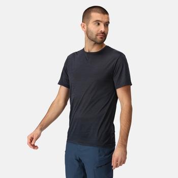 Men's Fingal Edition Marl T-Shirt Navy