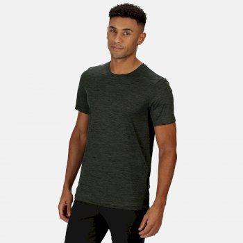 Men's Fingal Edition Marl T-Shirt Deep Forest