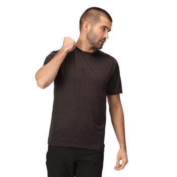 Men's Fingal Edition Marl T-Shirt Black