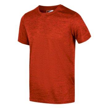 Men's Fingal Edition Marl T-Shirt Burnt Salmon