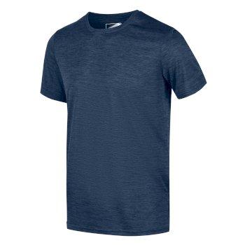 Men's Fingal Edition Marl T-Shirt Dark Denim