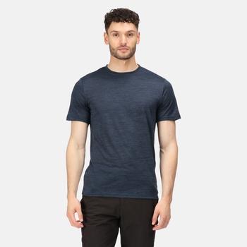 Men's Fingal Edition Marl T-Shirt Moonlight Denim