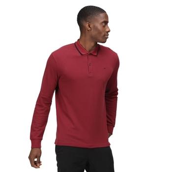 Męska koszulka polo Leaonzo czerwona