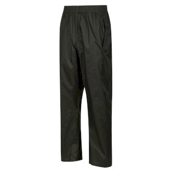 Men's Pack It Waterproof Overtrousers Bayleaf