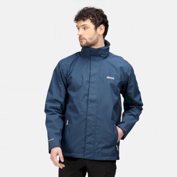 Men's Matt Waterproof Jacket Moonlight Denim Navy