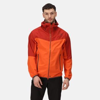 Men's Imber II Lightweight Waterproof Jacket Magma Burnt Tikka