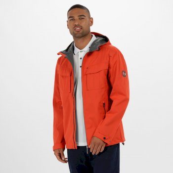 Bardolf Stretch Waterproof Jacket Amber Glow