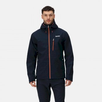 Men's Birchdale Waterproof Hooded Jacket Navy
