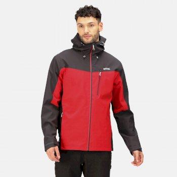 Men's Birchdale Waterproof Jacket Chinese Red Ash