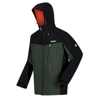 Men's Birchdale Waterproof Jacket Deep Forest Black